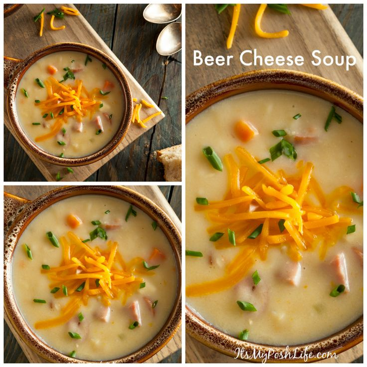 Homemade Beer Cheese Soup http://poshonabudget.com/2016/11/homemade-beer-cheese-soup.html via @poshonabudget