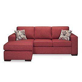 Simmons(MD) Canapé-lit G 2 places/chaise longue Elena II avec matelas Beautysleep | Sears Canada