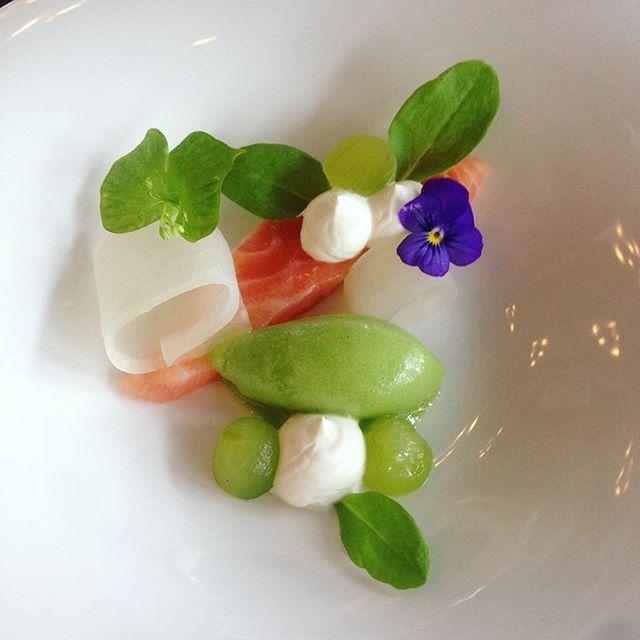🥂 #dinner #foodgram #food #salmon #langvikhotel http://www.langvik.fi/