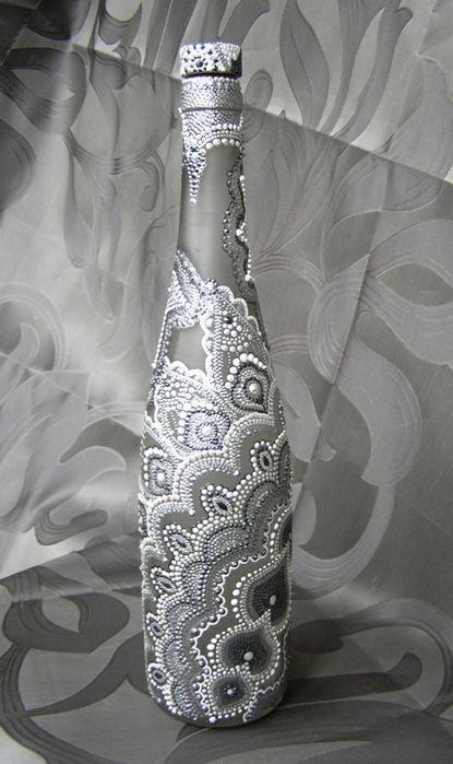 Жемчужно-перламутровая точечная роспись Юлии Левашовой фото