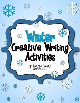Winter Creative Writing Activities - free download with 8 pages of handouts.Free Winter, Winter Blue, Free Download, Creative Writing Prompts, Poetry Prompts, Winter Seasons, Fun Creative, Writing Activities, Winter Creative