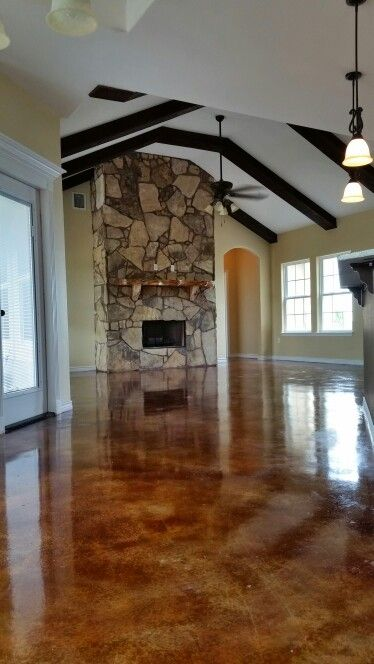 20 Best Images About Stained Concrete Floors On Pinterest Stained Concrete Rustic Staircase