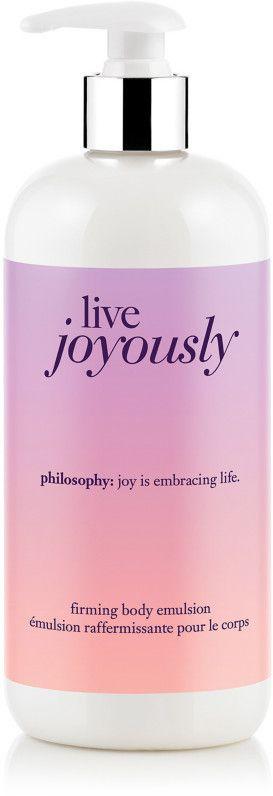 Philosophy Live Joyously Firming Body Emulsion
