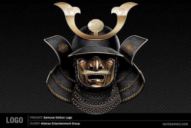 Samurai Helmet and Mask | Samurai Helmet by ~natebarnes on deviantART