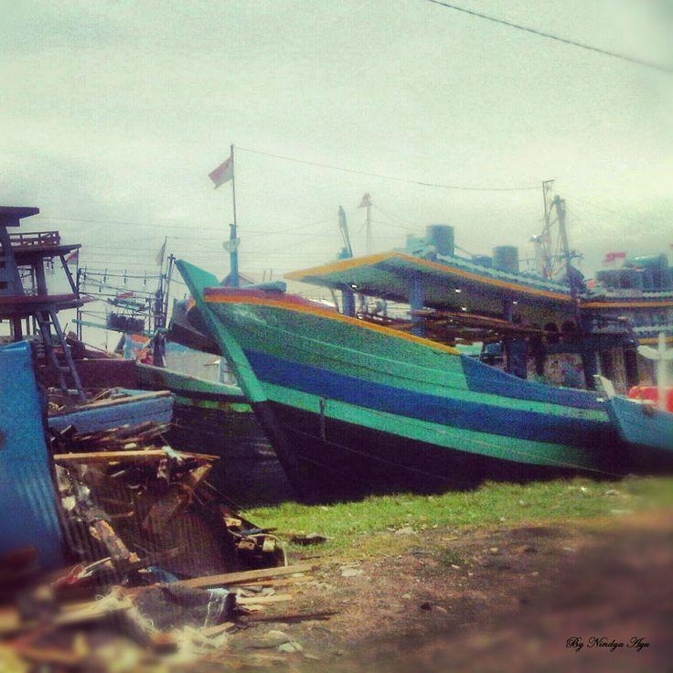 Tempat Pelelangan Ikan Kota Tegal #indahnyaindonesia #indonesia #tegal #centraljava