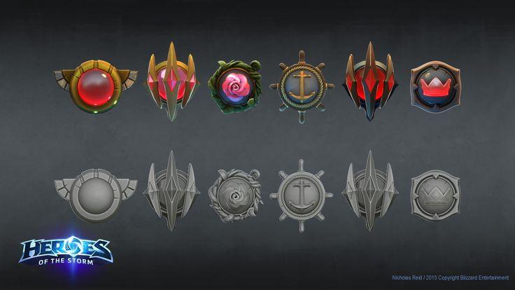Heroes Of The Storm - Core Shields, Nicholas Reid on ArtStation at https://www.artstation.com/artwork/XdEDw