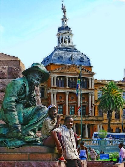 Church Square, Pretoria, South Africa by vadim19