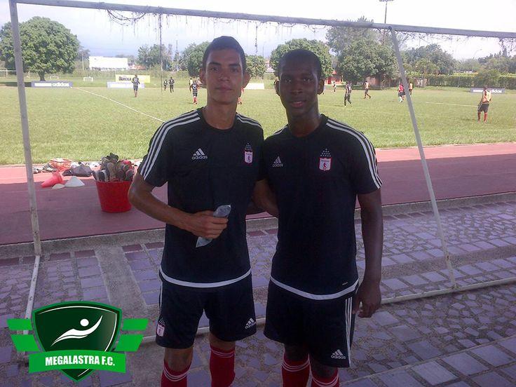 Santiago Zuluaga (Volante Izquierdo) y Luis David Cuero (Lateral Izquierdo)  #America #Americadecali #mechita #calicolombia #santiagodecali #futbol #soccer #football