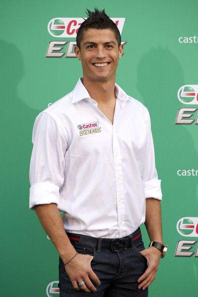 Cristiano Ronaldo Spiked Hair