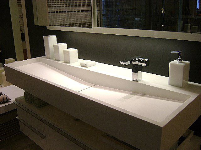 191 best images about bathroom sinks on pinterest see - Corian bathroom sinks and countertops ...