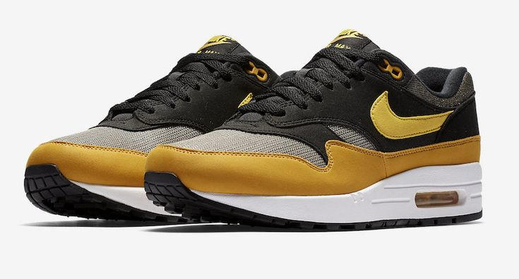Black & Yellow Land On The Next Nike Air Max 1