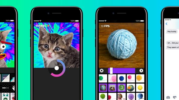 """Giphy dives into augmented reality with a mind-melting iOS app Read more Technology News Here --> http://digitaltechnologynews.com  We're entering a new dimension of GIFs.  A relaunched Giphy Cam app on iOS  dubbed Giphy Cam 2.5  will allow users to place animations next to real-life footage. The """"stickers"""" will follow you or your friends around in three dimensions pivoting Giphy from simple 2D animations and into a sort of augmented reality. You can save your loops and share them with your…"""