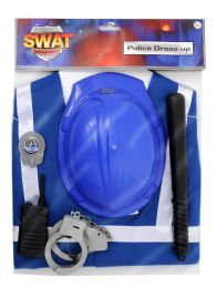 Buy Kids Six Piece Police Dress Up Outfit | Just £7.99 | Fancy Dress