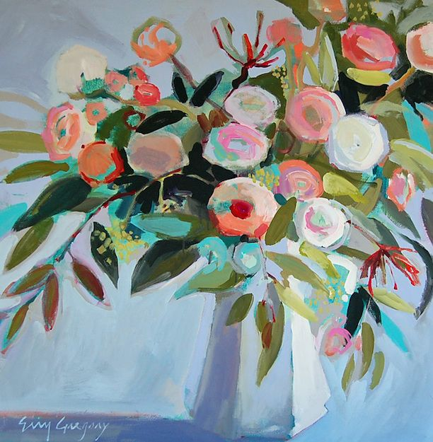 Floral Still Life by Erin Gregory | Southern Arrondissement: Erin Gregory