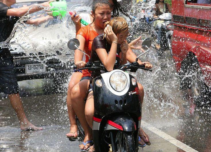 Songkran (Thailand's water festival)