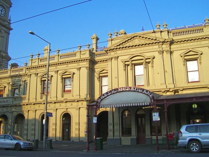 Historical Building ~ Building Facade. Errol Street, North Melbourne.  Australia. Photo by Dana Bonn