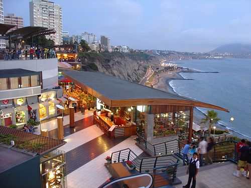 Miraflores Lima Peru is now a thriving district, safe and very important in Lima, for their great commercial movement, culture and tourism.