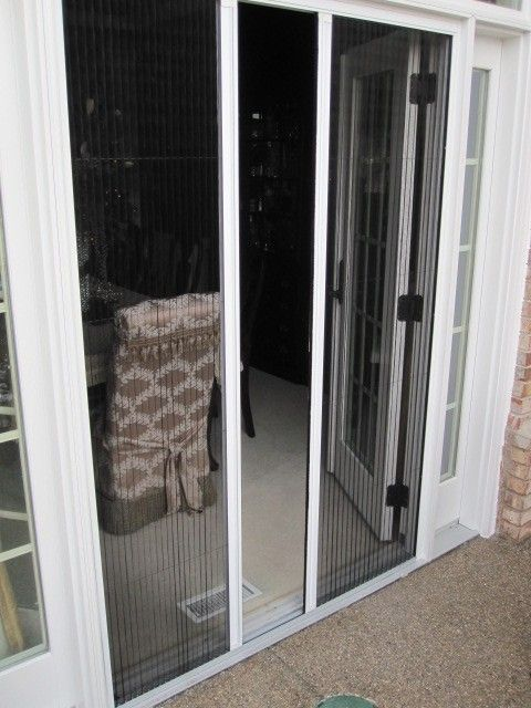 71 best images about plisse retractable screens on for Hidden screens for french doors