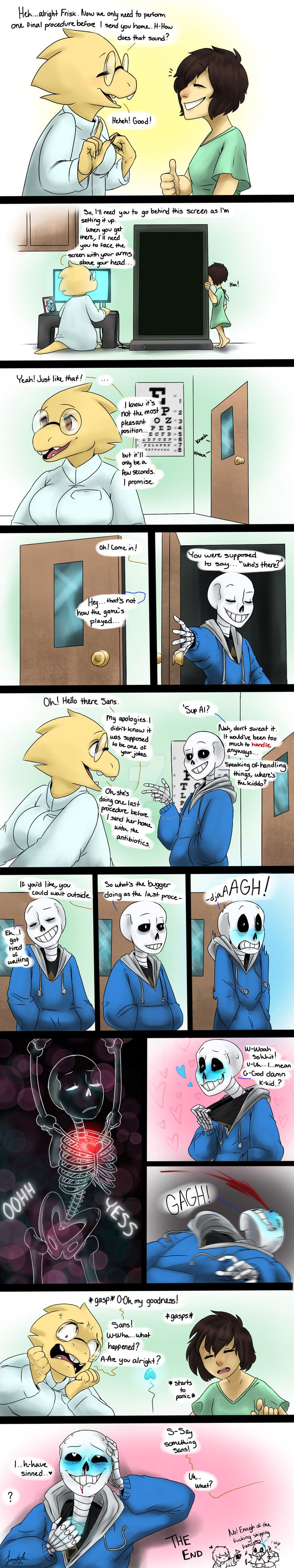 Doctor's Check Up: Undertale by http://animorphs1.deviantart.com/