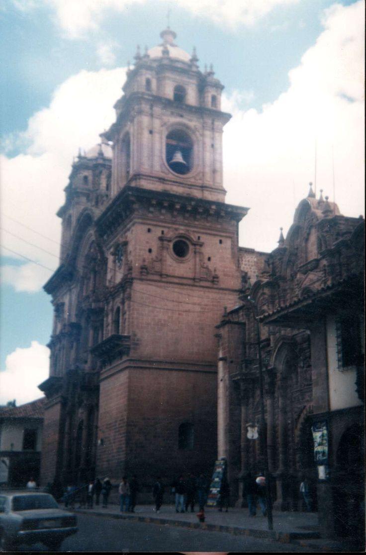 Catedral de Cusco, Perú. Año 2001, fotografía de papel y escaneada