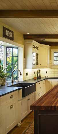 Dreamy Creamy Kitchens U0026 Baths With Apron Sink And Kitchen   Dura Supreme  Kitchen Designed By Linda Williams From