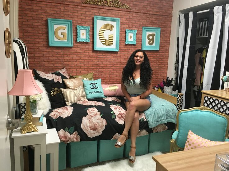 UCF dorm room cute dorm room Chanel dorm room fashion dorm