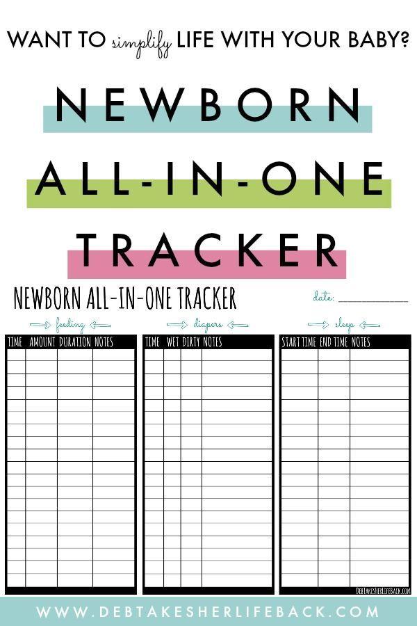 Newborn All In One Tracker Free Download Baby Tracker Newborn Feeding Newborn