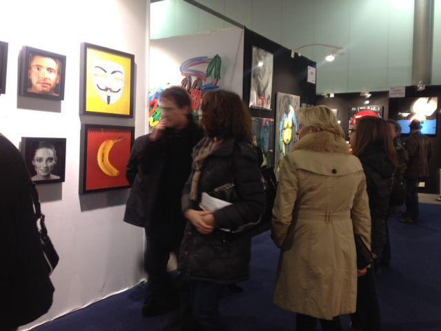 Retrouvez la Colorfield Gallery à l'ART3F de Mulhouse jusqu'au 1er décembre !