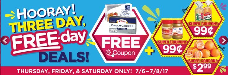 Tops E Coupons: This weeks Three Day Free-Day deals-> Free Cream Cheese Brick, $.99 Peanut Butter, $.99 D'Italiano Bread, $2.99 3lb Mandarin Oranges!! - http://www.couponsforyourfamily.com/tops-e-coupons-this-weeks-three-day-free-day-deals/