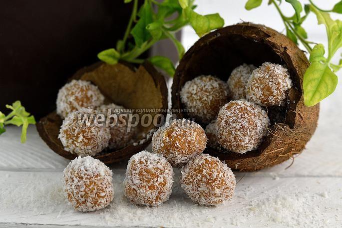 Фото Кокосовые конфеты