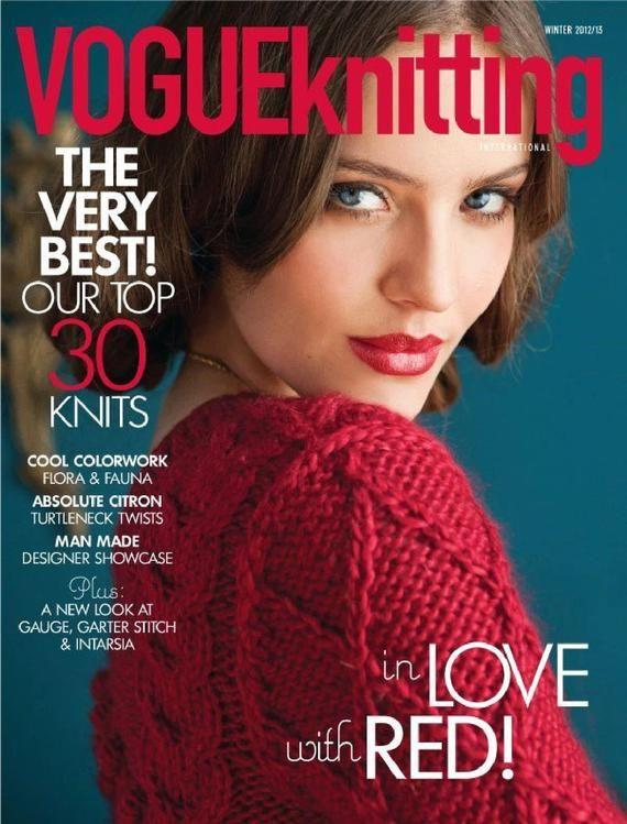 Vogue Knitting Magazines | Knitting Patterns for Women sweater