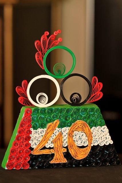 made for UAE National Day celebration