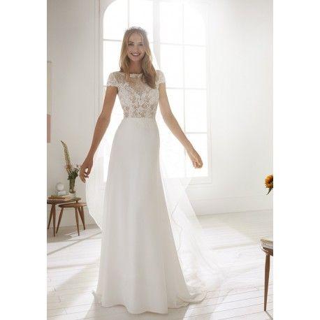 c24f26bb90a Découvrez la collection 2019 des robes de mariée White One et le modèle  Obre à découvrir