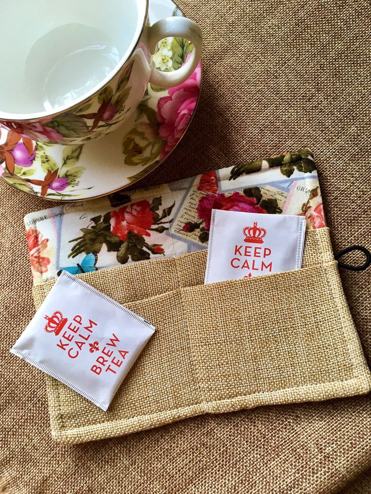 A personal favorite from my Etsy shop https://www.etsy.com/listing/558292048/tea-wallet-tea-bag-holder-tea-accessory
