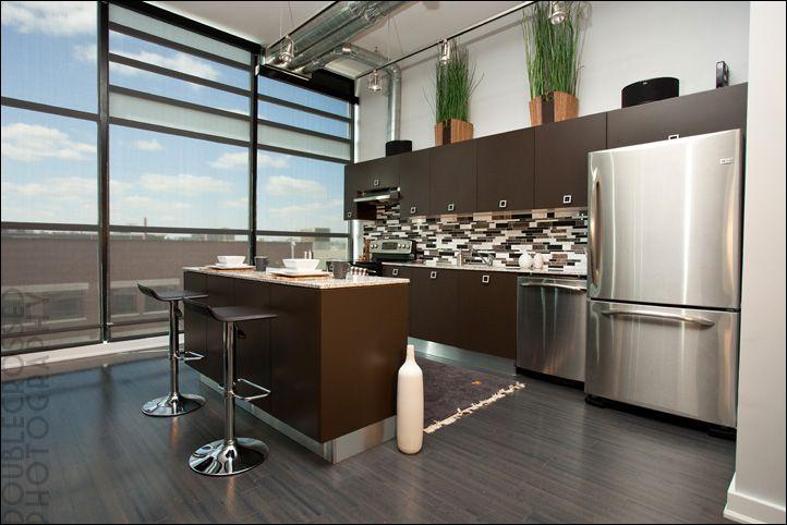 87 best loft ideas images on pinterest bathroom decks for Attic kitchen ideas