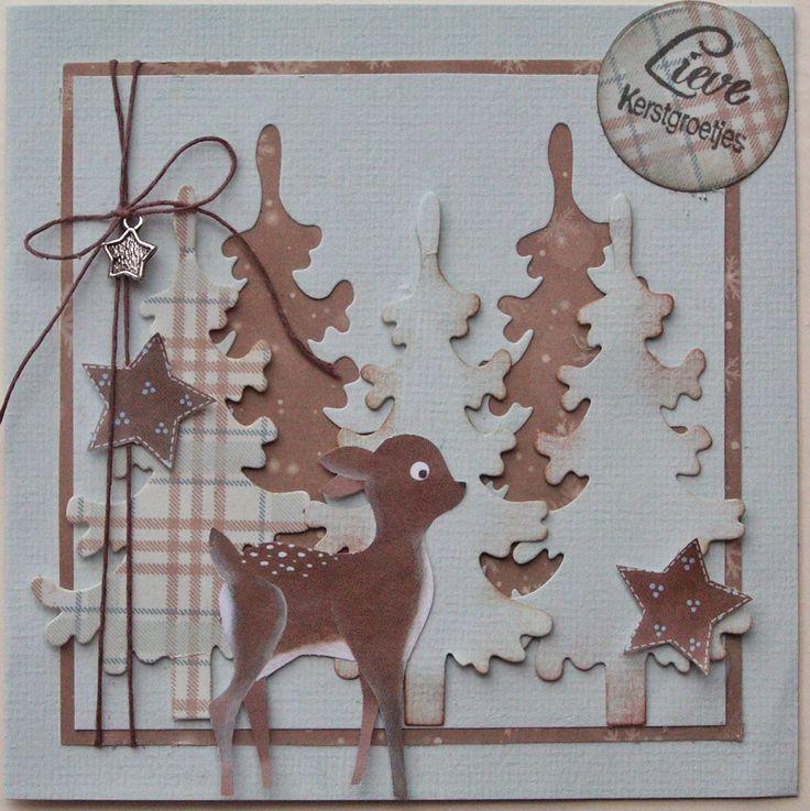 Trijntjes Kaarten: Zelfs 2 kerstkaarten week 3