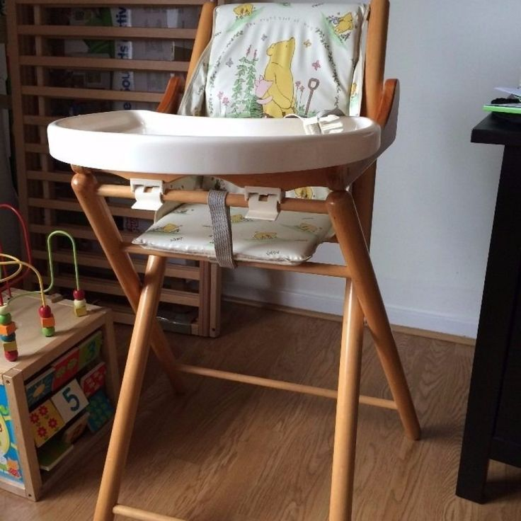 Winnie The Pooh High Chair Wooden
