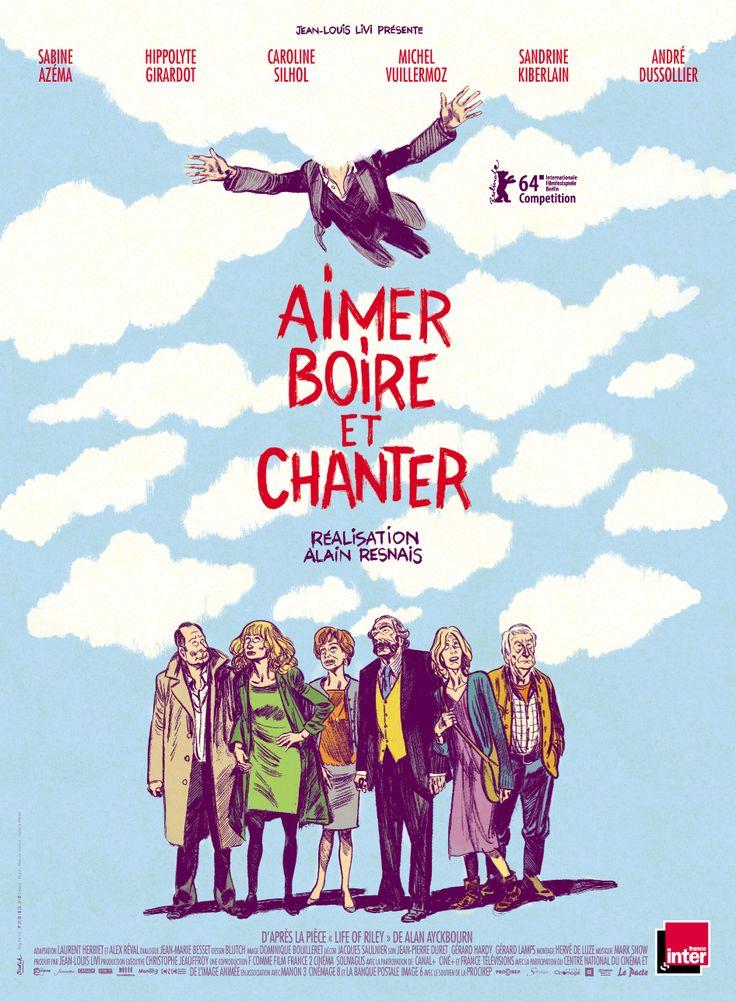 Aimer, boire et chanter – Alain Resnais 'Pour la troisième et dernière fois, Alain Resnais adapte une pièce de théâtre de l'Anglais Alan Ayckbourn. Après « Smoking /No Smoking » et « Cœurs », c'est « Life of Riley » qui se trouve porté à l'écran par le réalisateur décédé quelques jours avant la sortie de son dernier film.'