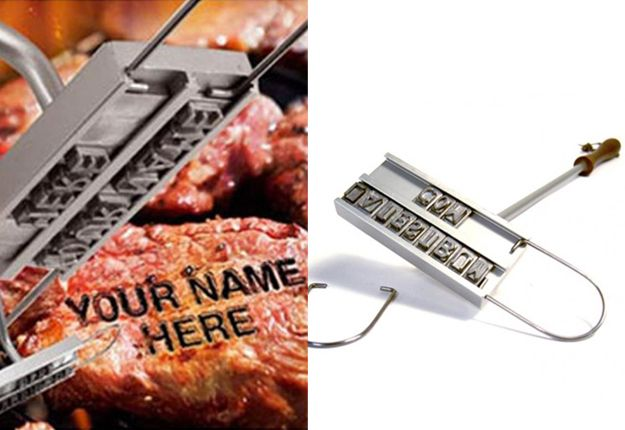 This has got to be the best present for dad this Fathers day! he can BRAND HIS OWN STEAK!!! The BBQ Branding Iron, from MaleBox is $35, MoM loves this #fathers day gift idea, which you can #win it at www.mouthsofmums.com.au