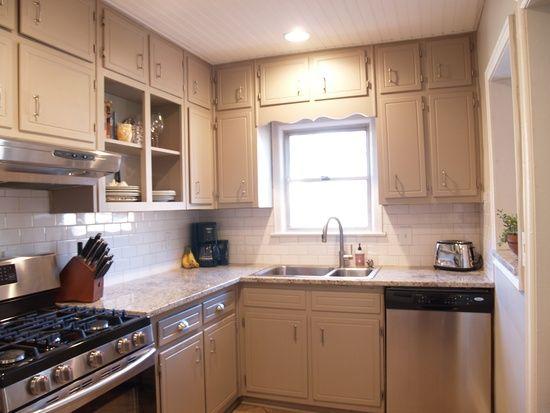 Kitchen update with original cabinets reno pinterest for Kitchen cabinets zionsville