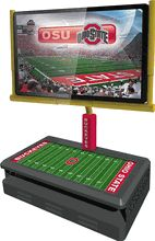 Man Cave... Sporty TV Stands - Gridiron Goal Post Flat Panel TV Stand - Ohio State TV Stand