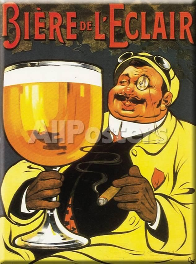 Biere de L' ¨¦clair Wall Signs Tin Sign - 30 x 41 cm