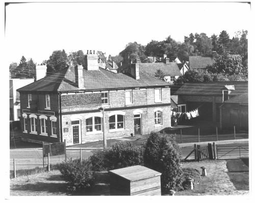 The Junction Hotel, Charlton Road, Andover, 1980.