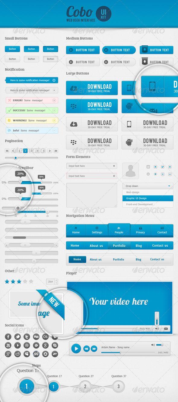 Cobo UI Kit - GraphicRiver Item for Sale