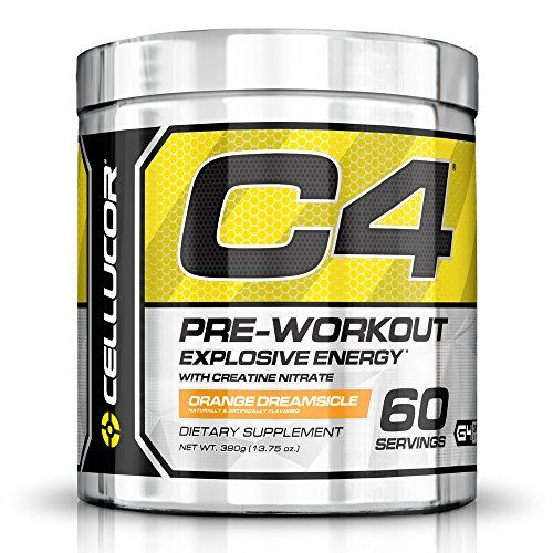 Cellucor C4 Pre Workout Supplements with Creatine, Nitric Oxide, Beta Alanine and Energy, 60 Servings, Orange Dreamsicle, 13.75 Oz (390 g) *** Learn more by visiting the image link.
