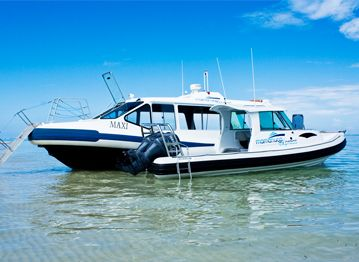 NZ$ TBA - FERRY TRANSFER up to 30 people - Mamanuca Express, Fiji's premier water taxi service, operates Fiji's newest and most comfortable 24 hour water taxi's from Port Denarau Marina to all Resorts in the Mamanuca Islands.
