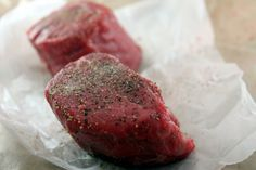 """Cooking a steak """"restaurant style"""" going to try this out to see if it beats the grill."""