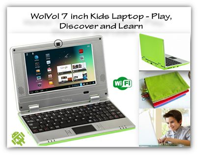 This amazing product is ideal as #kids #laptop to reinforce the lessons your kids learn in school, along with the fun education element. Grab one today! #Kidslaptop
