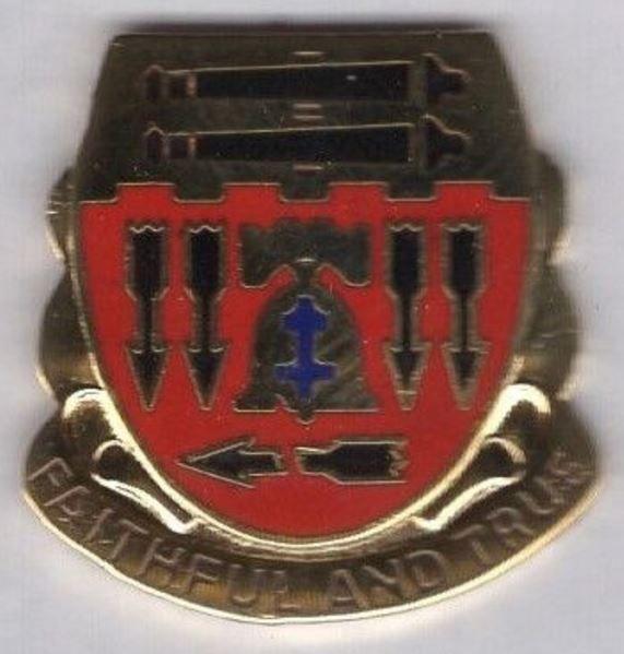 5th Artillery crest
