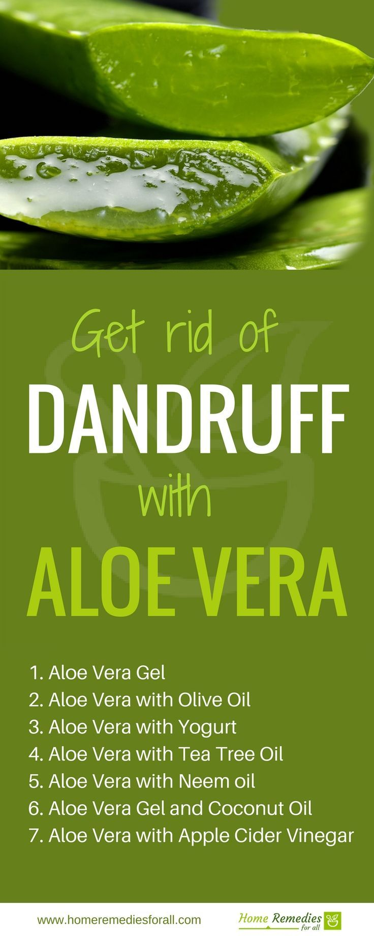 7 Ways To Use Aloe Vera For Dandruff Hair Dandruff Dandruff